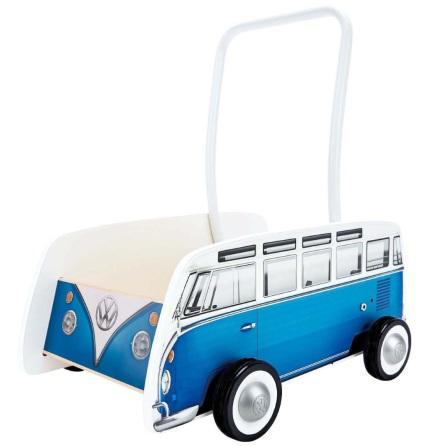 Hape Volkswagen Buss Gåvagn, Blå