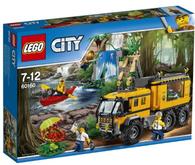 Lego City Djungel - mobilt labb