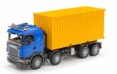 Emek Scania containerbil, Blå