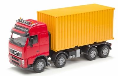 Emek Volvo Containerbil, Röd