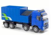 Emek Volvo med avfallscontainer, Blå