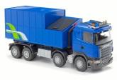 Emek Scania m Avfalls container, Blå