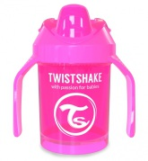 Twistshake Mini Cup 4+ mån 230ml, Rosa