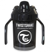Twistshake Mini Cup 4+ mån 230ml, Svart