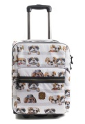 Pick & Pack Resväska Hundar, Beige
