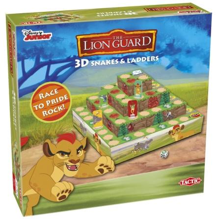 Lejonvakten 3D Snakes & Ladders