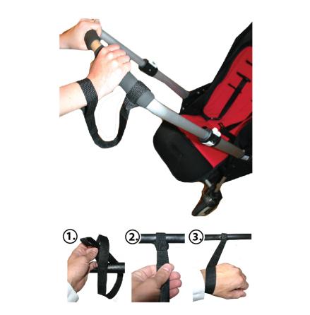 AddBaby Handledrem för barnvagn