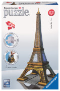 Eiffel Tower, 3D Pussel