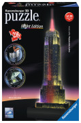 Empire State Building at Night, 3D Pussel