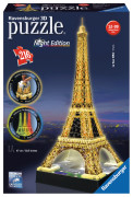 Eiffel Tower at Night, 3D Pussel