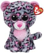 TY Beanie Boo's Tasha Rosa/Grå Leopard