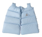 BabyDan Snuggle Bag, Love Birds Baby Blue