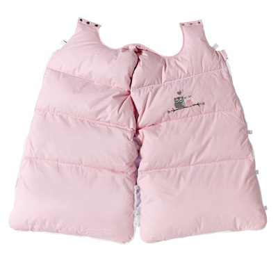 BabyDan Snuggle Bag, Love Birds Baby Pink