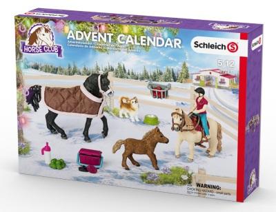 Schleich Adventskalender Hästar