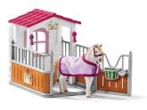 Schleich Hästbox med lusitanosto