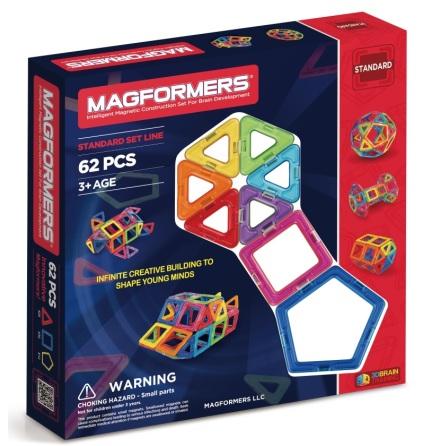 Magformers, Standard, 62 delar