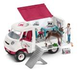 Schleich Mobil veterinär med hannoveranerföl