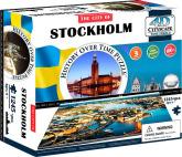 4D Cityscape Pussel Stockholm, Sverige
