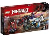 Lego Ninjago Gaturace med motorcyklar