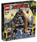 Lego Ninjago Movie Garmadons vulkanfästning