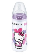 NUK Hello Kitty First Choice + PP-Flaska Silikon, 300ml