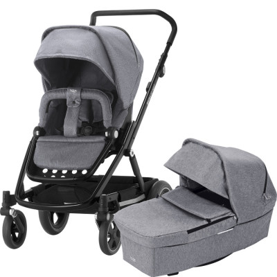 Britax Go Next2, Grey Melange/Black