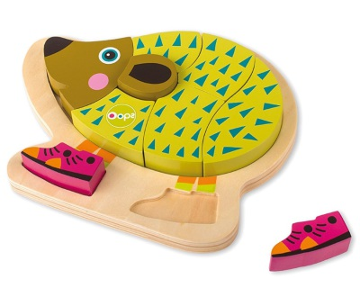 Oops Happy Puzzle! Hedgehog