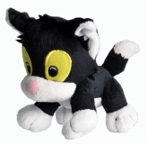 Katten Janson Mini mjukisdjur