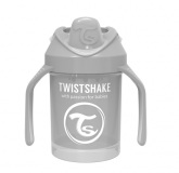 Twistshake Mini Cup 4+ mån 230ml, Grå