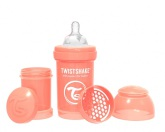 Twistshake Nappflaska Anti-Kolik-180ml, Peach