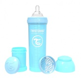 Twistshake Nappflaska Anti-Kolik-330ml, Babyblå