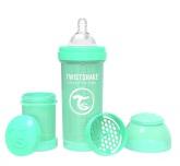 Twistshake Nappflaska Anti-Kolik-260ml, Mintgrön