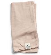 Bamboo Muslin Blanket, Powder Pink