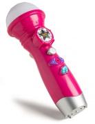 3-2-6 Rosa mikrofon med ljus och ljud