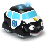 Stadens Hjältar Palle Polisbil leksaksbil med ljud