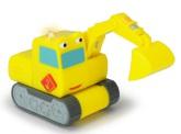 Stadens Hjältar Grävarn leksaksbil med ljud