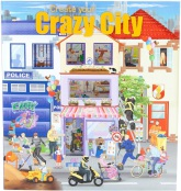 Create Your Crazy City Pysselbok