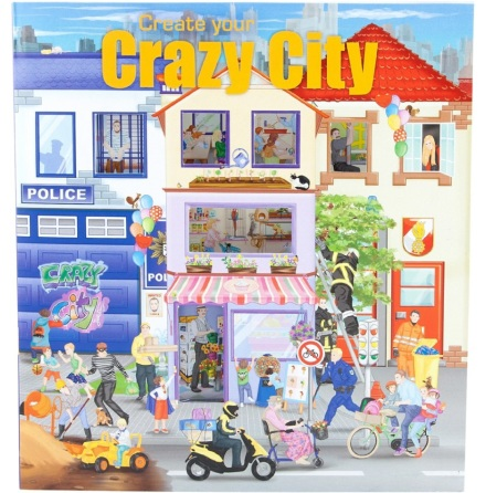 Create Your Crazy City Pysselbok