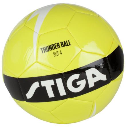 Stiga Thunder Ball Fotboll Storlek 4, Limegrön/Vit
