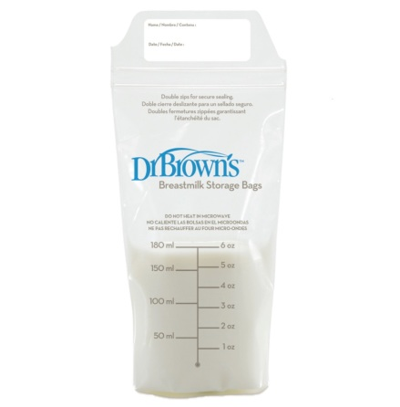 Mjölkförvaringspåsar Dr Brown, 25 st