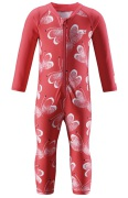 Reima Barn UV-Overall Maracuya, Bright Red