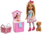 Barbie Chelsea set med hundvalp och tillbehör