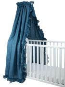 NG Baby Sänghimmel Volang, Blue Mood Ruffles