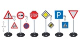 BIG Bobby Car, Traffic Signs Mega Set