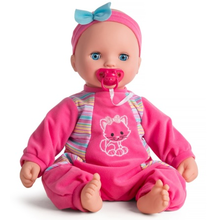 My Baby Love Laura Beanbag Docka, Rosa