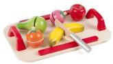 """3-2-6 Frukt med bricka och """"kniv"""""""