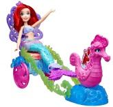 Disney Ariel med sjöhästvagn