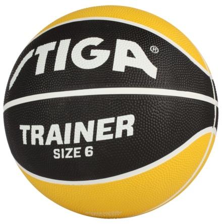 Stiga Basketboll Trainer Storlek 6, Gul