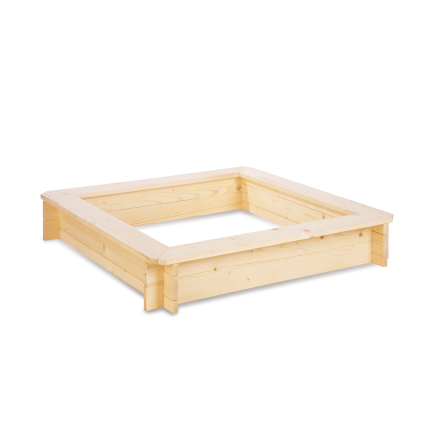 Sandlåda 100 cm x 100 cm