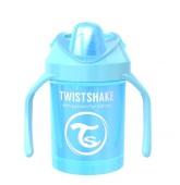 Twistshake Mini Cup 4+ mån 230ml, Pearl Blå